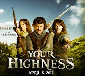 'Your Highness' Brings Back Fantasy Foolery