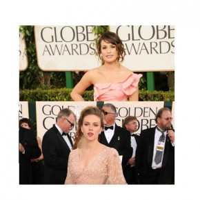 Awkward Red Carpet Pictures from the 2011 Golden Globes