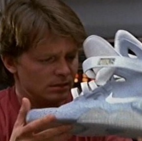 Coming Soon: Marty McFly's Nike Air MAGs from Back to the Future II?