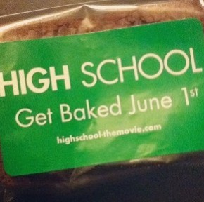Promo Item of the Moment: 'HIGH School' Brownie