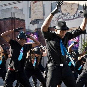 &#039;Step Up Revolution&#039; Flash Mob Drops it Like it&#039;s Hot at AT&amp;T Park in S.F.