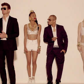 Workout Song of the Week: &#039;Blurred Lines&#039; by Robin Thicke featuring T.I. &amp; Pharrell