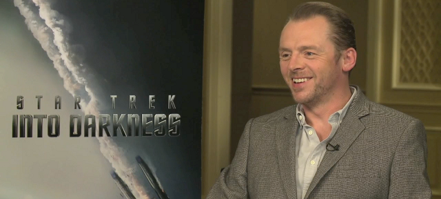"Watch: Simon Pegg Talks ""Star Trek Into Darkness"" and Why We Must Protect Ourselves From Movie Spoilers"