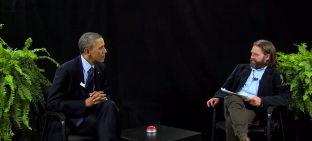Holy Sh*t! Barack Obama Was on 'Between Two Ferns'!