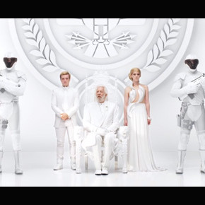 Everything Looks so White and Pretty in President Snow's Second Panem Address