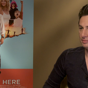 Watch Me Talk To Zach Braff About 'Wish I Was Here', Soundtracks, and Swear Jars