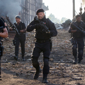 'Expendables III': The One Where Sylvester Stallone Fights a Building