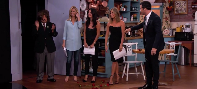 Jimmy Kimmel Had a 'Friends' Reunion...Kind of