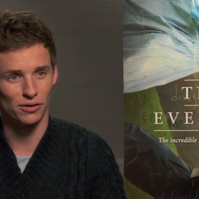ICYMI: Watch Eddie Redmayne Talk About Meeting Stephen Hawking While Playing Him in 'The Theory of Everything'
