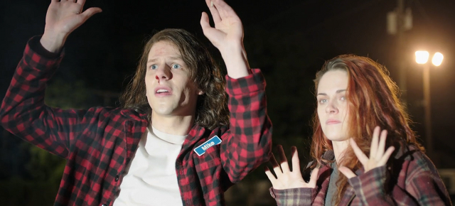 Jesse Eisenberg and Kristen Stewart Look Like the Same Person in Red Bad Trailer for 'American Ultra'